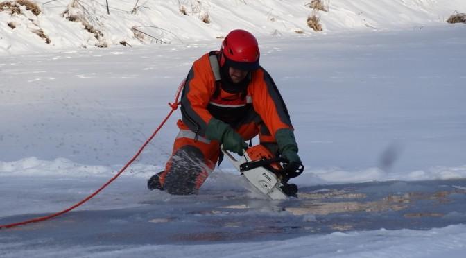 Doskonalenie zawodowe zratownictwa lodowego