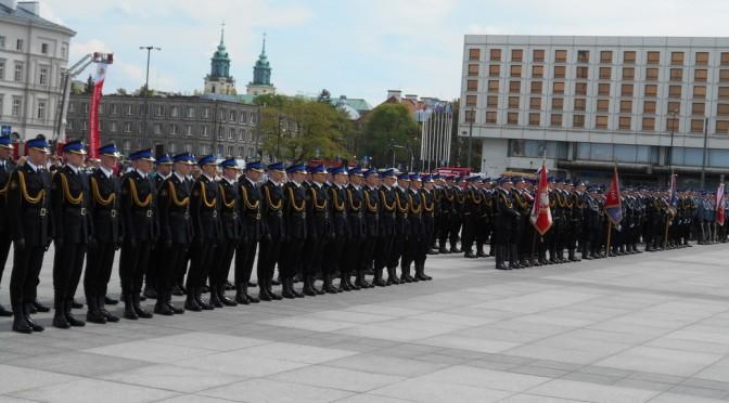Nowi oficerowie wKP PSP Strzyżów