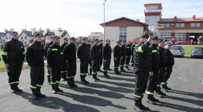 Szkolenie kierujących działaniem ratowniczym dla członków Ochotniczych Straży Pożarnych