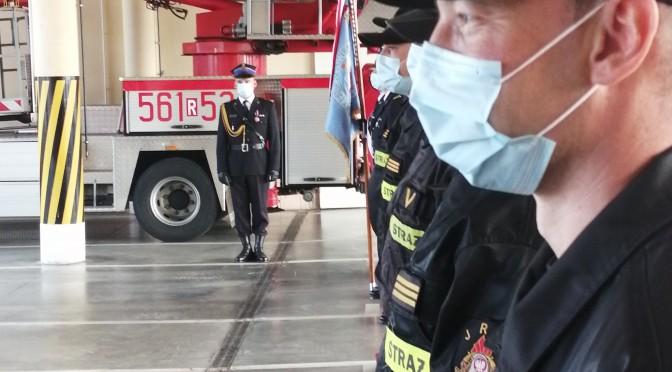 Dzień Strażaka wKomendzie Powiatowej Państwowej Straży Pożarnej wStrzyżowie